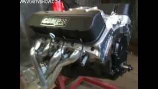 1968 Camaro Countdown to SEMA 2011 V8TV Video 63 Days 490 Engine