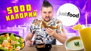 5000 калорий за ОДИН РАЗ / Обычное vs Премиум / Самый СЫТНЫЙ выпуск / Обзор JustFood