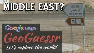 MIDDLE EAST? (Google Maps StreetView GeoGuessr) Free HD Video