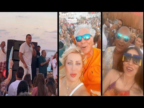 عمرو دياب يغني أحلى ونص لأول مرة ويشعل حفله بالساحل اليوم  في حضور النجوم