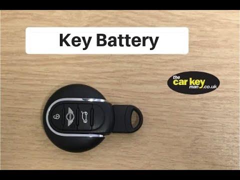 Key Battery Bmw Mini How To Change Youtube