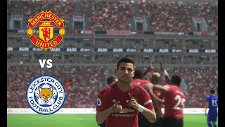 Man United vs Leicester City - England Premier League Gameweek 1 | Gameplay PC