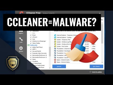 CCleaner Hacked, Replaced By Malware!