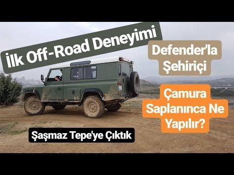 İlk Off-Road Deneyimi / Çamura Saplandık / Defender Saçmalatması / LandoffTR