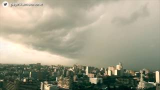 Watch this incredible time-lapse of #Dineo hitting Maputo Bay, Mozambique