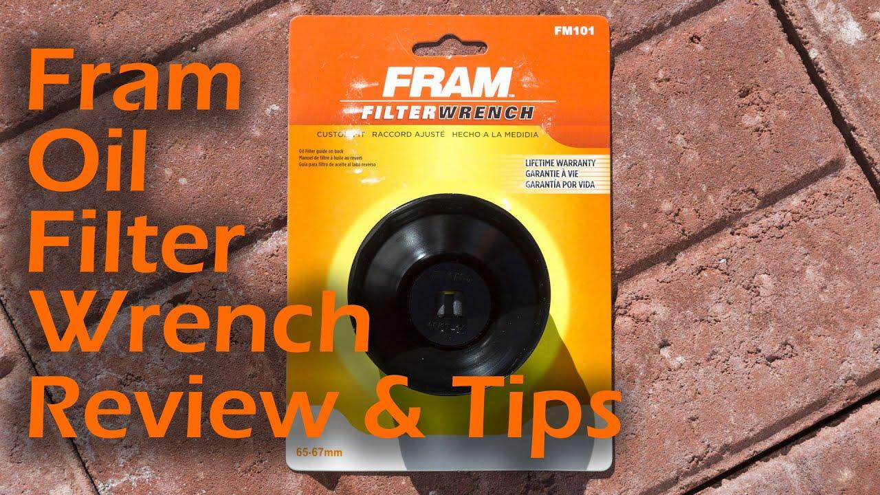 Fram oil filter cap wrench review youtube