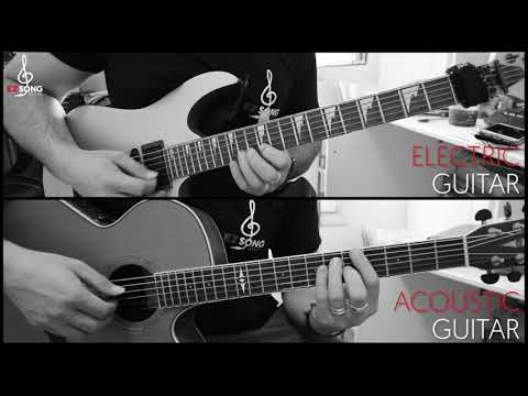 Benny Hill Theme - Yakety Sax [2 Guitars Cover/Lesson With TABs/Scores]