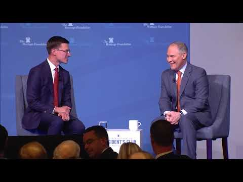2017 President's Club Luncheon ft EPA Administrator Scott Pruitt  | The Heritage Foundation