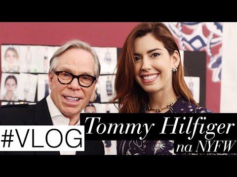 VLOG: entrevista, backstage e desfile da Tommy Hilfiger na NYFW!