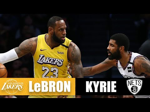 LeBron edges Kyrie with a triple-double in their first Lakers-Nets showdown  2019-20 NBA Highlights