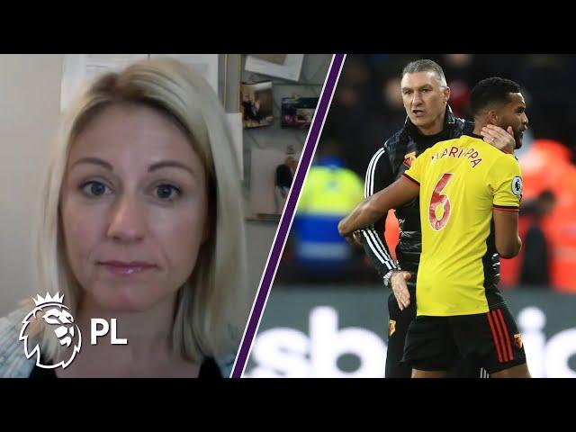 Watford's Nigel Pearson gives Adrian Mariappa update   Inside the Mind w/ Rebecca Lowe   NBC Sports