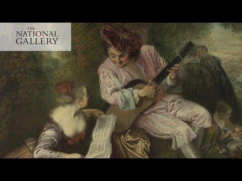 Jean-Antoine Watteau's 'The Scale of Love' | Painted Lovers | National Gallery