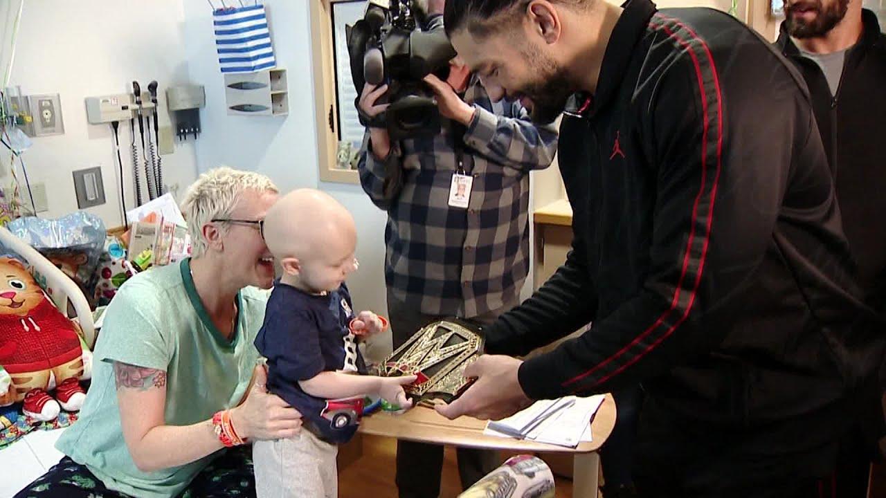 Roman Reigns, Seth Rollins, Finn Balor & Natalya Visit Children's Hospital Patients In Pitt