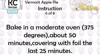 Vermont Apple Pie - Kitchen Cat