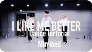 Jinwoo Yoon (1Million Dance Studios) - I like me better (Lauv) Dance Turtorial (Miroed)