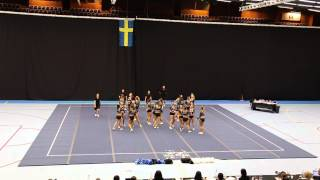 Cheerleading DM södra 2014, Gothenburg Cheer One Wildcats