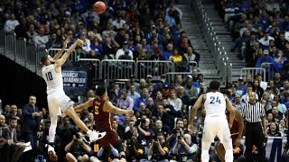 Nevada's Caleb Martin's five 3-pointers against the Loyola