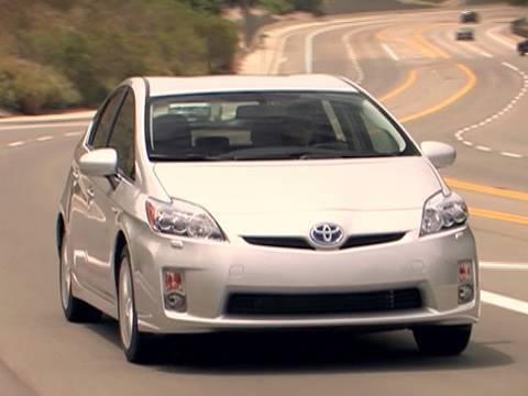 Interior Tour 2010 Toyota Prius 5 Advanced Technology Package