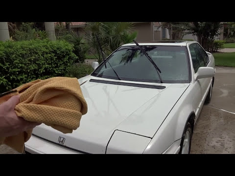 Eagle One Wax as you Dry Review and Test Results on my Honda Prelude.