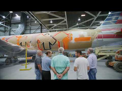 American Airlines Unveils Official Stand Up To Cancer Plane