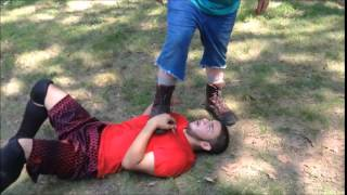 "BYW Wrestling- ""Hardcore Match"" (Champion) Luke Haywood vs Steve French"