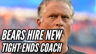 Bears Hire Clancy Barone as Tight Ends Coach || Chicago Bears News
