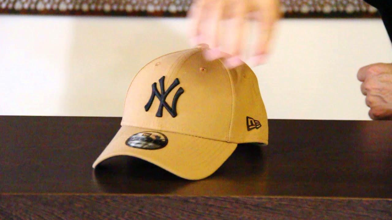 21c390691 New Era - New York Yankees 9FORTY Cap - Wheat