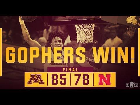 Highlights: Men's Basketball Defeats No. 24 Nebraska, 85-78