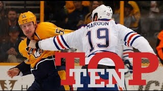 Top Ten NHL Hockey Fights of February 2017