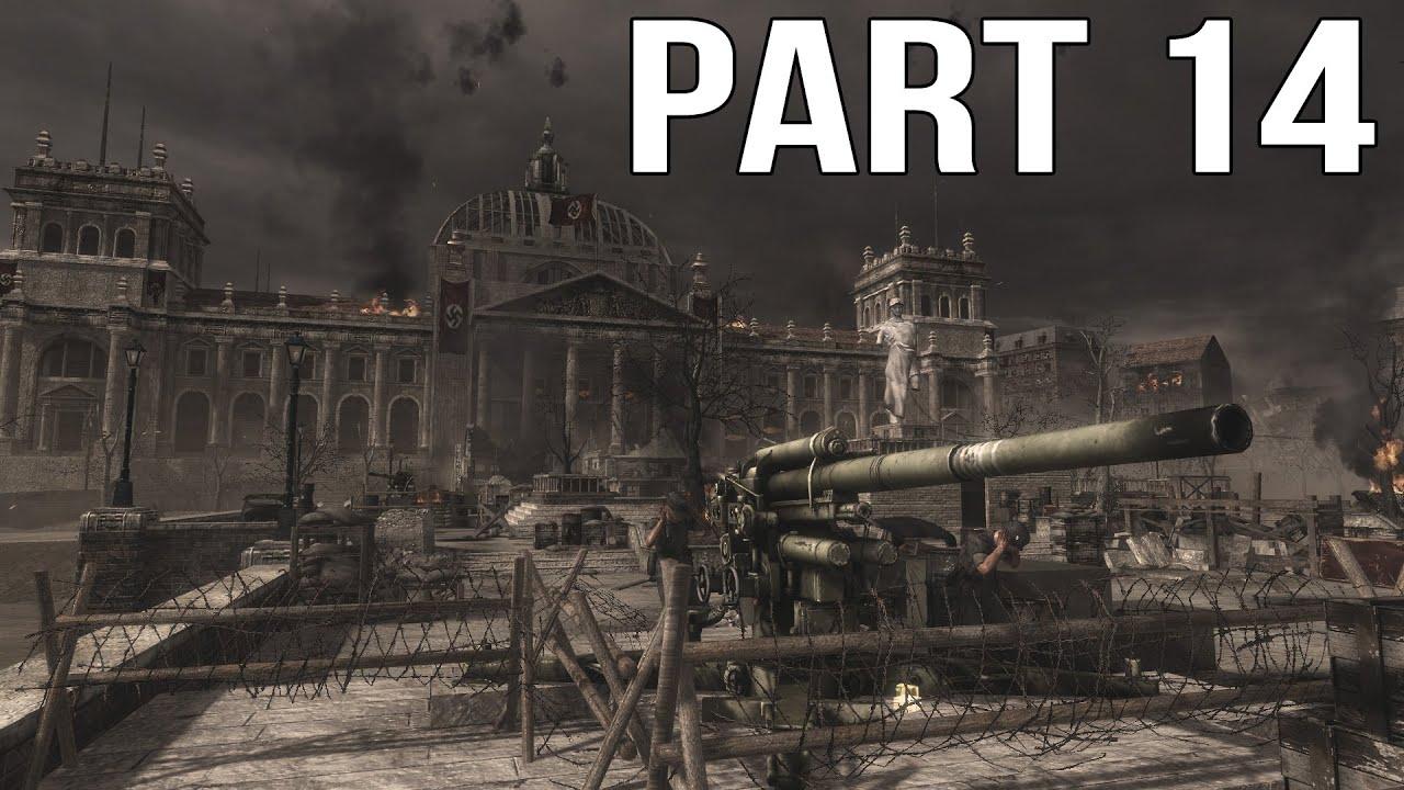 Call of Duty World At War - Gameplay Walkthrough Part 14 - Heart of the Reich
