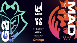 G2 Esports vs MAD Lions | LEC Spring split 2020 | Final Game 1 | League of Legends