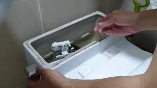 변기 물내림 레버 자가 수리