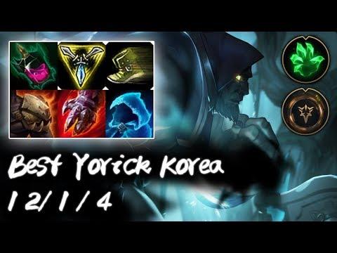 Best Yorick Korea Top vs Gangplank   Pentakill   Korea High Elo