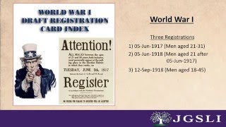 7 Important Genealogical Hints from WW I & WW II Registration Cards