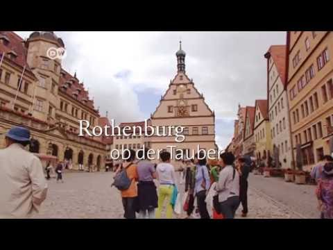 The TOP 10 sights and attractions in Germany - Old town of Rothenburg ob der Tauber