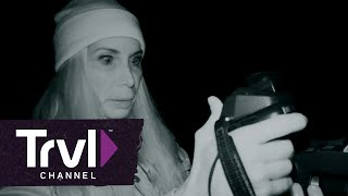 Mireya Captures Large Figure on Thermal Camera | Expedition Bigfoot | Travel Channel