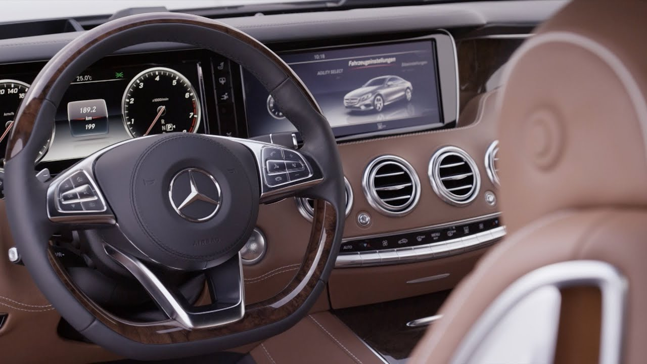 mercedes s 500 coupe interior youtube. Black Bedroom Furniture Sets. Home Design Ideas
