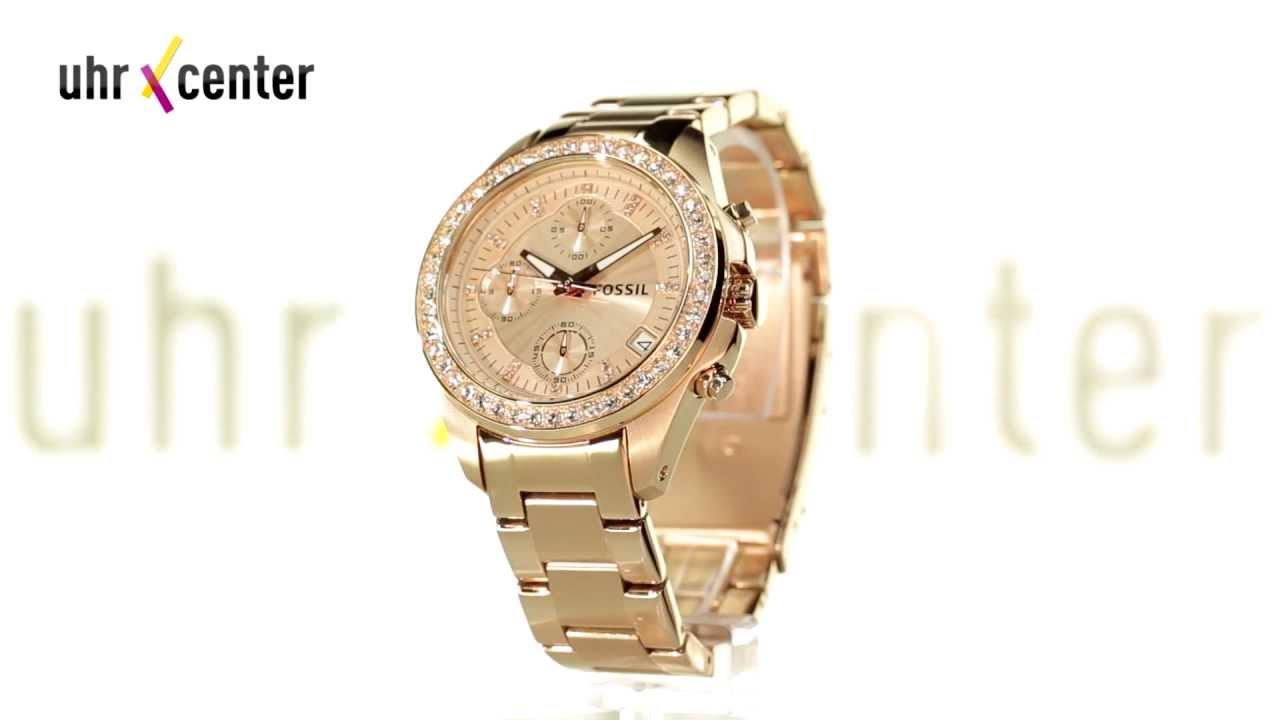 Damen Uhren Gold Fossil Beliebtester Schmuck