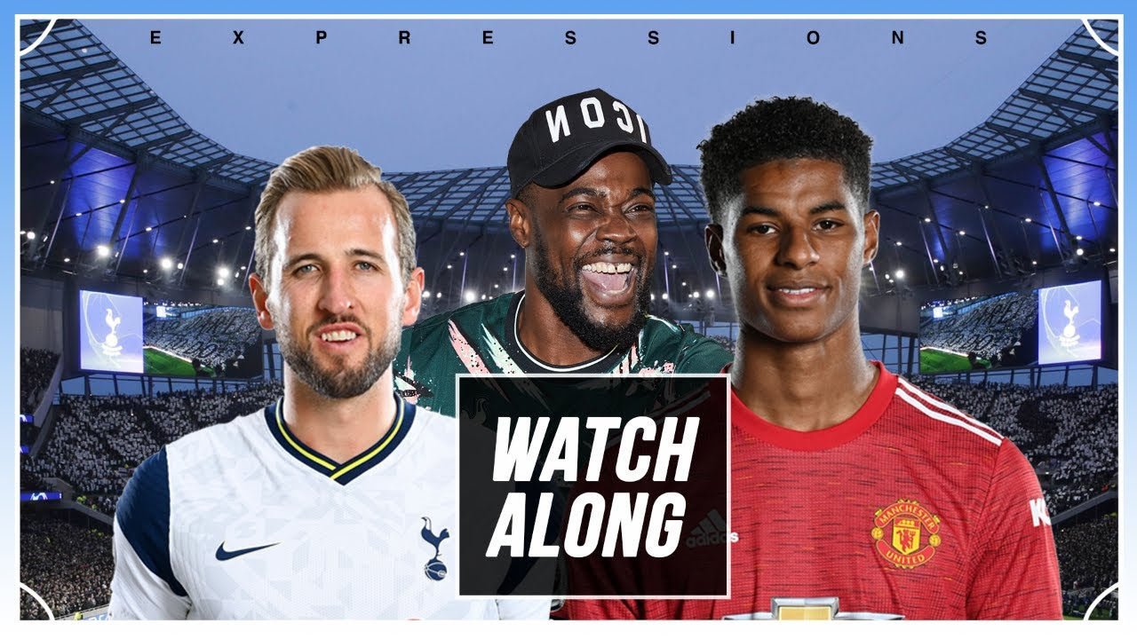 Download Tottenham vs Manchester United LIVE With EXPRESSIONS OOZING