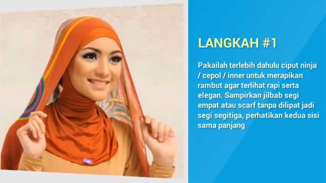 Tutorial Memakai Jilbab Segi Empat Ala Citra Kirana YouTube