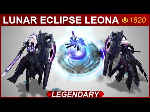 Lunar Eclipse Leona Skin Spotlight   SKingdom - League of Legends