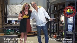 Behind the Scenes at Colour In Your Life featuring Sophia Stacey and Douglass Brown