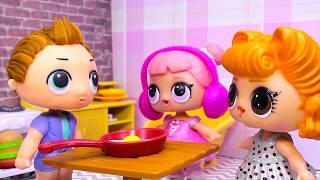 #Куклы ЛОЛ LOL Surprise Сборник №4 Смешные Мультфильмы с куклами ЛОЛ Мультики для Детей Lalaloopsy В