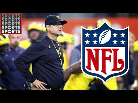 Will Jim Harbaugh Leave Michigan For The NFL?