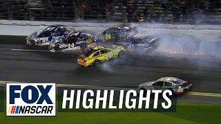 Danica and Stenhouse Jr collide - Sprint Unlimited - 2014 NASCAR Sprint Cup