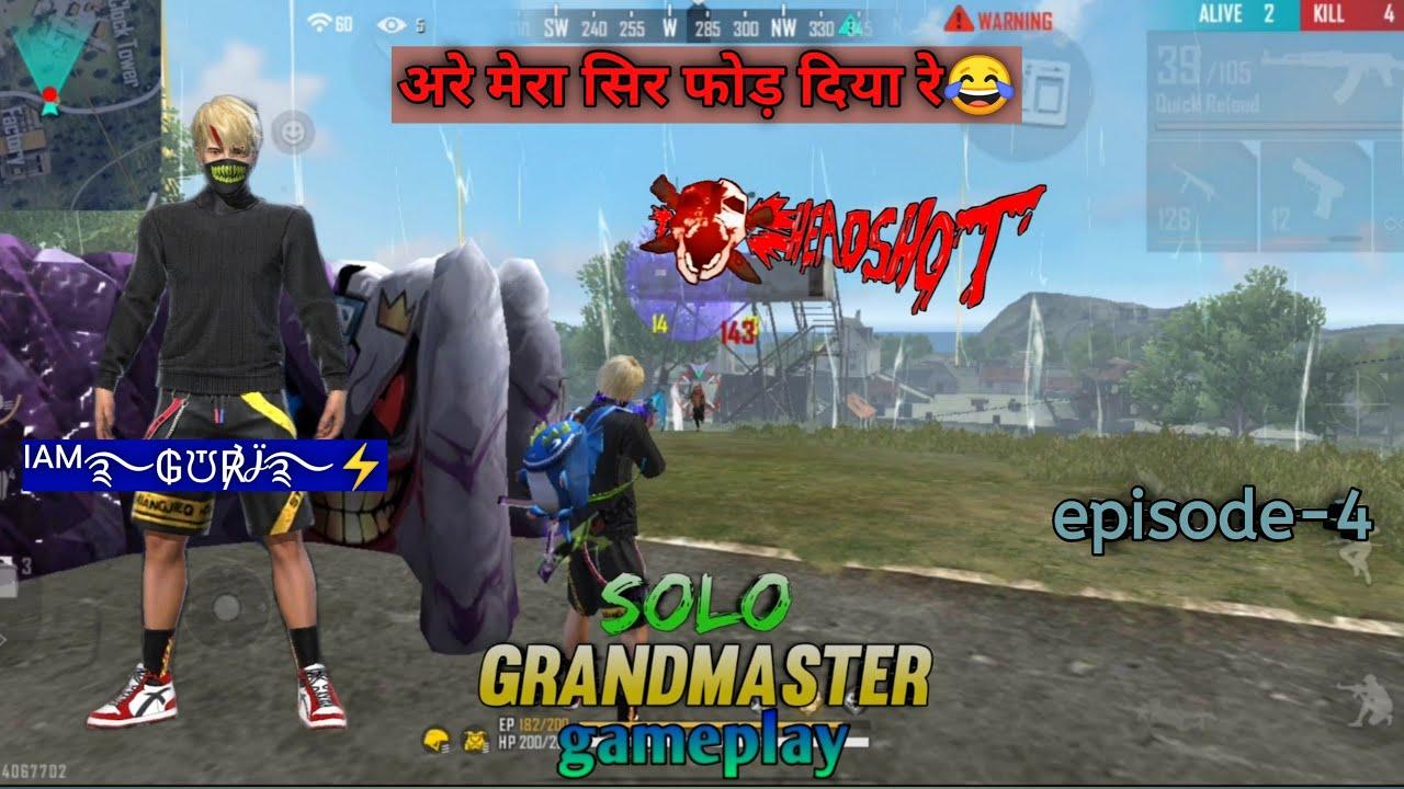 Download Road to Grandmaster season-19 | solo Grandmaster push | Solo Grandmaster Gameplay | episode-4