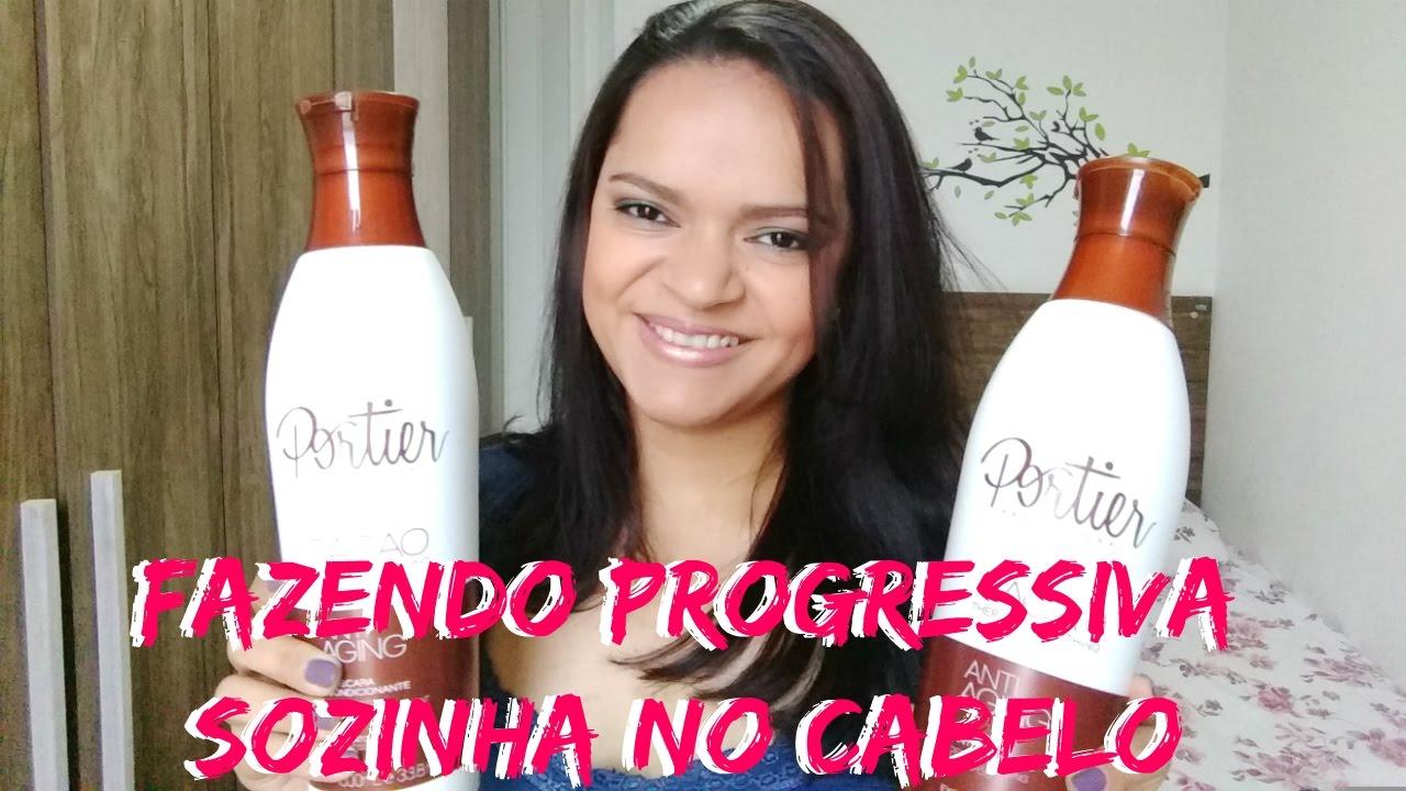d94837c2d PROGRESSIVA EM CASA SOZINHA - PASSO A PASSO - PORTIER CACAO - YouTube