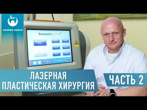 Лазерная пластическая хирургия для блефаропластики, маммопластики, абдоминопластики. Хирург Щевцов