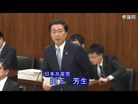 山下芳生 日本共産党 総務委員会 参議院 2019 03 19