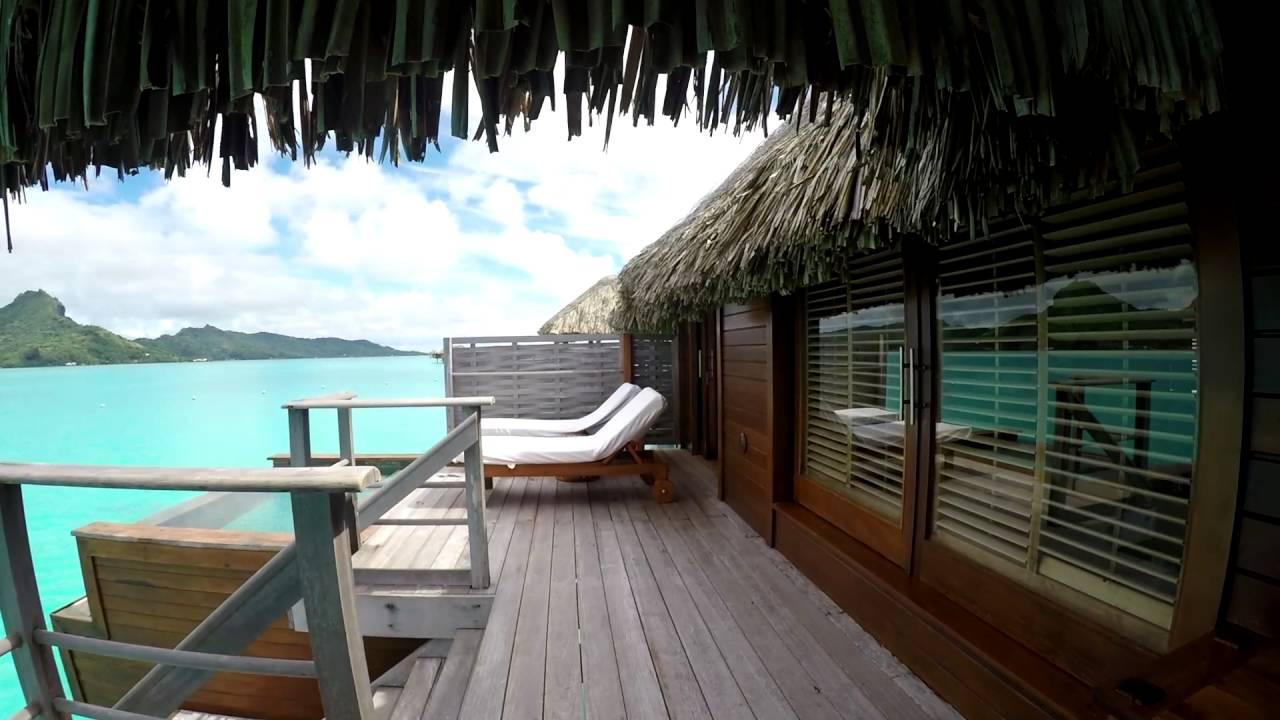 Four Seasons Bora Bora Over Water Bungalow Room Tour